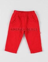 Pantalon gabrdina forrado beba c/bord. Colores surtidos. Rimbi.