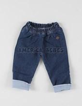 Pantalon Jean forrado beba.  Rimbi.