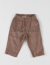 Pantalon cordery bebe pañalero.Rimbi.