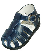 A521 Sandalia clasica. Azul. Pepes bebes.