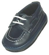 A770 Zapato leñador. Azul. Pepes bebes.