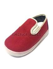 A840 Zapatillas pancha. Rojo. Pepes bebes.