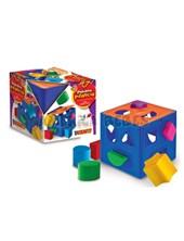Cubo didactico con formas de encastre primera infancia. Duravit