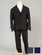 Ambo: saco y pantalon mecanico SEMI CHUPIN. Colores: Negro-Gris-Azul. Su-Roger