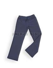 Pantalon de frisa con bolsillos y cordon en cintura