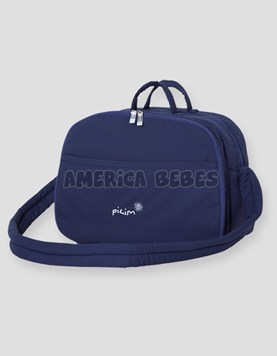 BOLSO DOBLE FUELLE NAVY PILIM