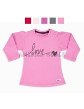 Remera bebe M/L jersey color con estampa. Colores surtidos. Baby Cheito.