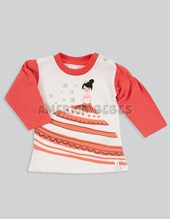 Remera Manga Larga Mini Beba Princesa Baby Cheito