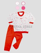 Pijama M/L estamp.nena. gamise