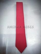 Corbata ceolon rojo Juvenil colegial.