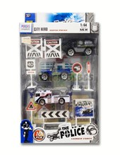 Set Caja Autitos Policia con accesorios E-Learning
