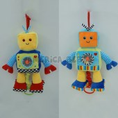 CUNERO. ROBOT 12.5PUL. WOODY TOYS.