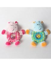 "Sonajero Hipopotamo 5,5"". Woody Toys."