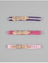 Cintos rayas  elástico regulable para nena.