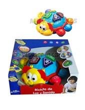 BICHITO DE LUZ Y SONIDO. Zippy toys.