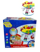 PROYECTOR MUSICAL. 3 Proyecciones Full HD. Zippy toys.