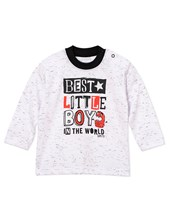 Remera m/l bebe little boy Colores Surtidos. Gepetto