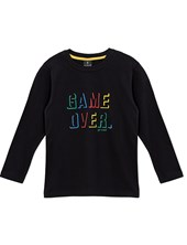 Remera m/l junior game over. Colores Surtidos. Gepetto