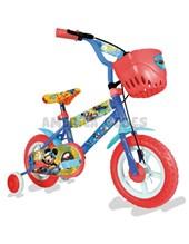 """Bicicleta Rodado 12"""" Mickey. +  4 años.  Licencia Oficial. Unibike."""