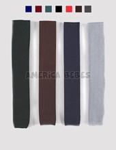 Corbata TEJIDA juvenil. Colores: 1(azul) 2(bordo) 3(verde) 4(negro) 5(rojo) 6(marron) 7(gris)