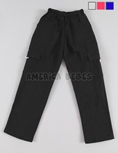 Pantalón Friza. COLORES: Negro-Melange-Azul-Rojo. Petenone