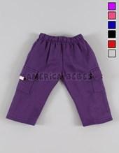 Pantalón unisex cargo friza.BB. COLORES SURTIDOS. Petenone