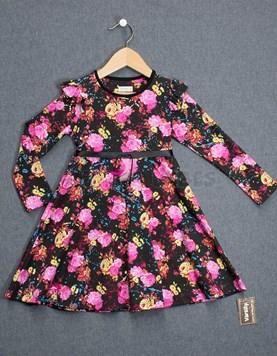 995a30928 Vestido nena flores con cinturon. Colores surtidos. Varsity.