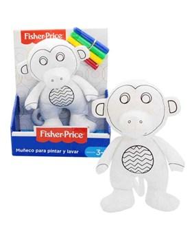 Muñeco mono peluche para colorear fisher Price