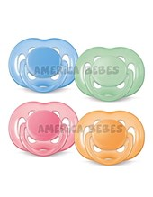 CHUP. FREEFLOW 6-18 BPA FREE x2 UNI.  Colores surtidos.Avent.