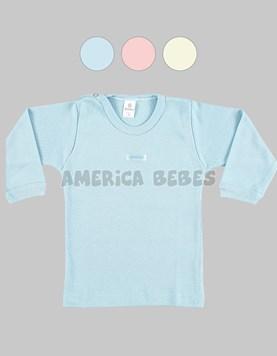 REMERA M/L bebes LINEA SUAVE. Colores surtidos. Gamise.