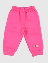 Pantalón con puño beba frisa gamuzada. Colores surtidos. Premium only babys.