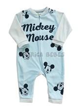 Enterito polar bebe sublimado Mickey. Colores surtidos. Disney Licencia.