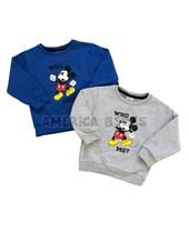Buzo bebe friza estampa Mickey. Disney Licencia.