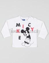 Remera bebe Mickey estampada. Disney Licencia.