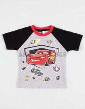 Remera bebe M/C bebe Cars. Disney Licencia.