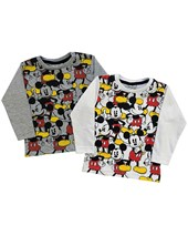 Remera manga larga bebe Mickey Disney