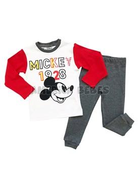 407f2bb69 Conjunto nene interlock estampado Mickey. Colores surtidos. Disney Licencia.