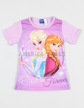 Remera M/C Frozen. Disney Licencia.