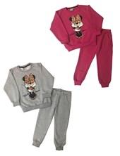 Conjunto Nena Friza  Buzo y Pantalon Minnie. Colores surtidos. Disney.