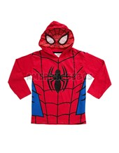 Remera Nene M/L con capucha. Spiderman. Disney licencia.