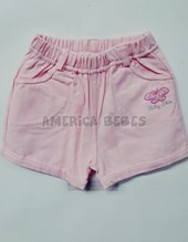 SHORT NENA GABARDINA COLOR BABY SKIN