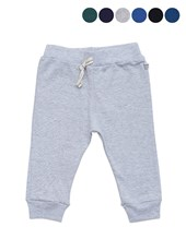 Pantalon mini bebe algodon con cinta. Baby Skin