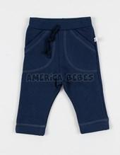 Pantalon bebe tiro largo c/bolsillo. Baby Skin.
