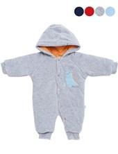 astronauta termico plush bebe. Colores: Melange-Azul-Celeste. baby skin