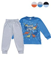 pijama varon c/estampado baby skin