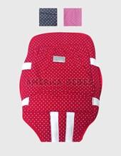 Mochila  porta bebe regulable con tiras acolchadas. Colores surtidos. Pilim.