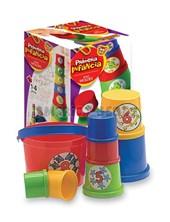 Torre de baldes grande en caja primera infancia. Duravit