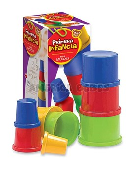 Torre de baldes chicos primera infancia. Duravit