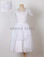 Solero comunión corte cint doble falda c/recogido c/cas. Children Dior.