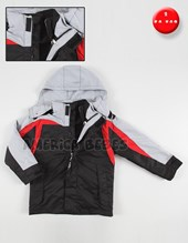 Campera desmontable softshell. Mac dash.